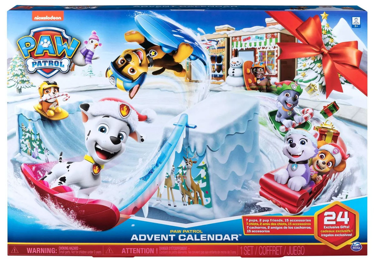 Paw Patrol 2019 Advent Calendar Spin Master Toywiz