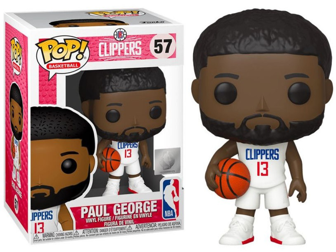 Bundled with Pop Protector to Protect Display Box Kyrie Irving Brooklyn Nets Pop Sports NBA Action Figure