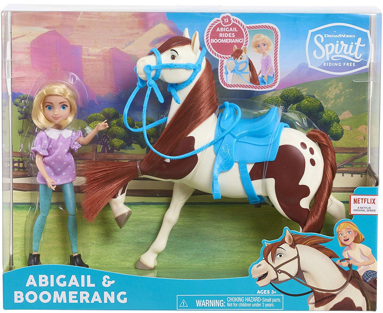 Spirit Riding Free Abigail Boomerang Figure Set Just Play Toywiz