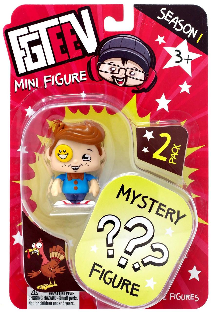 FGTeeV Mini Figure CHASE New SEASON 1 Bonkers Toy MYSTERY 2-Pack