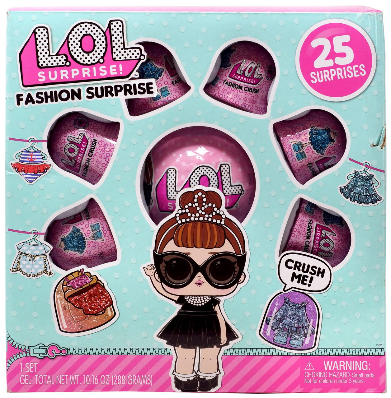 Lot of 6 LOL Surprise Fashion Crush Series 4 Eye Spy Authentic NEW