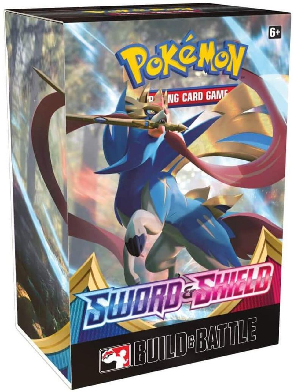 Pokemon Trading Card Game Sword Shield Build Battle Set Pre Order Ships February