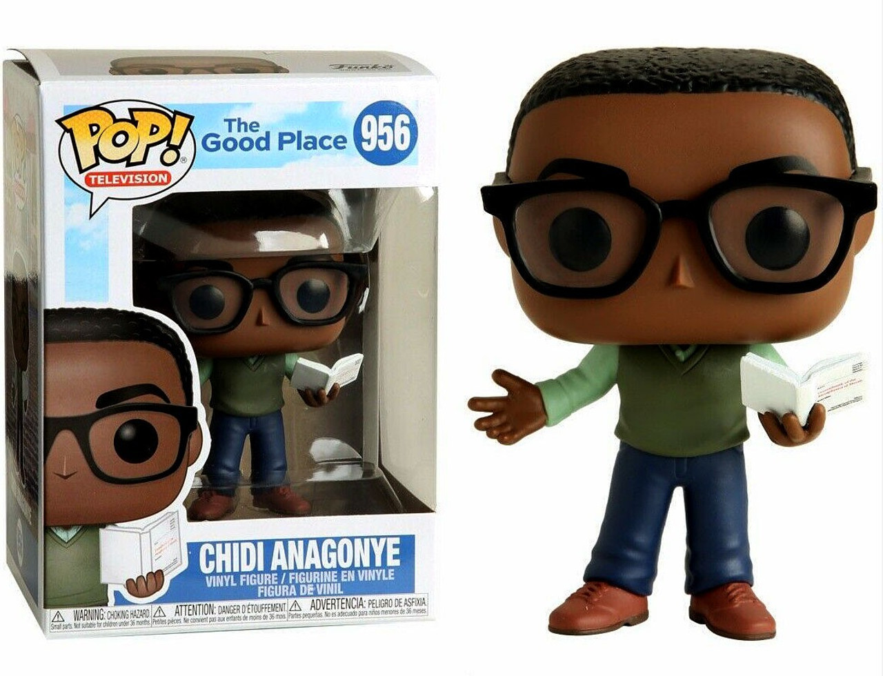 Michael New Toy TELEVISION: The Good Place Vinyl Figure FUNKO POP
