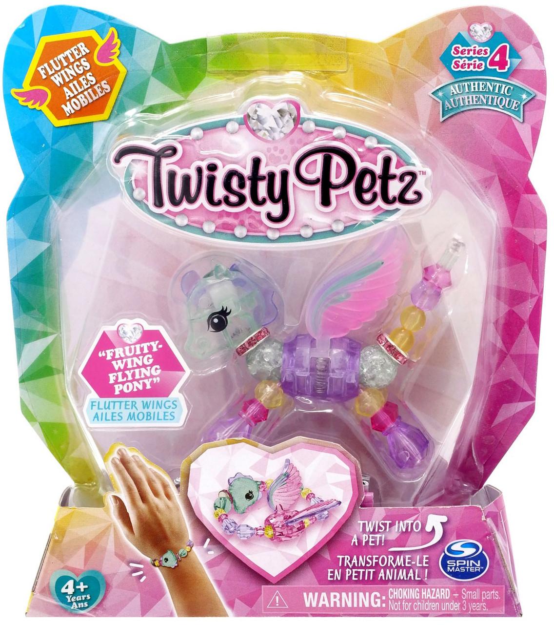 Fruity Wing Flying Pony* Twist Pet To Bracelet Twisty Petz SERIES 4