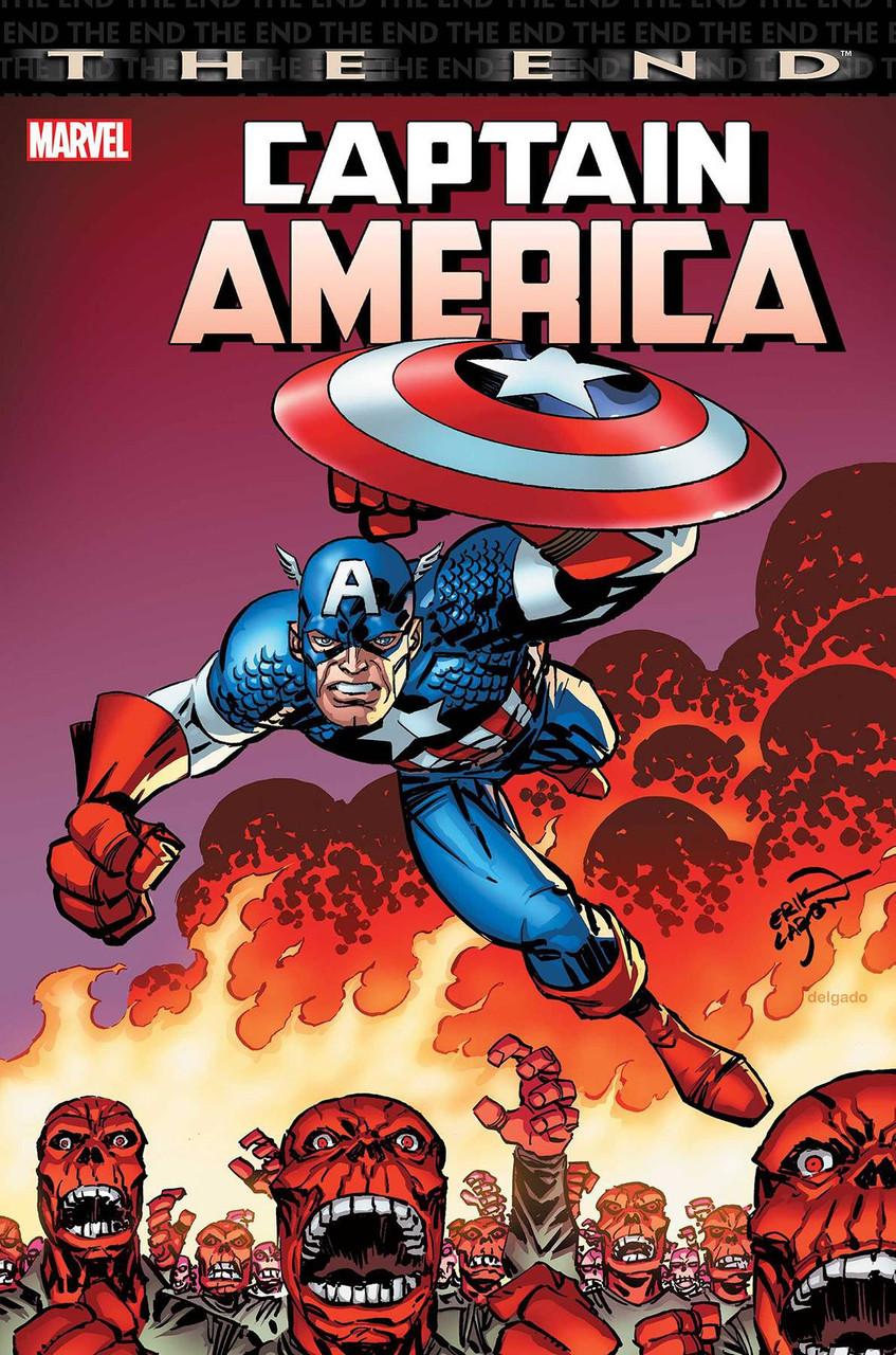 Risultati immagini per captain america the end cover