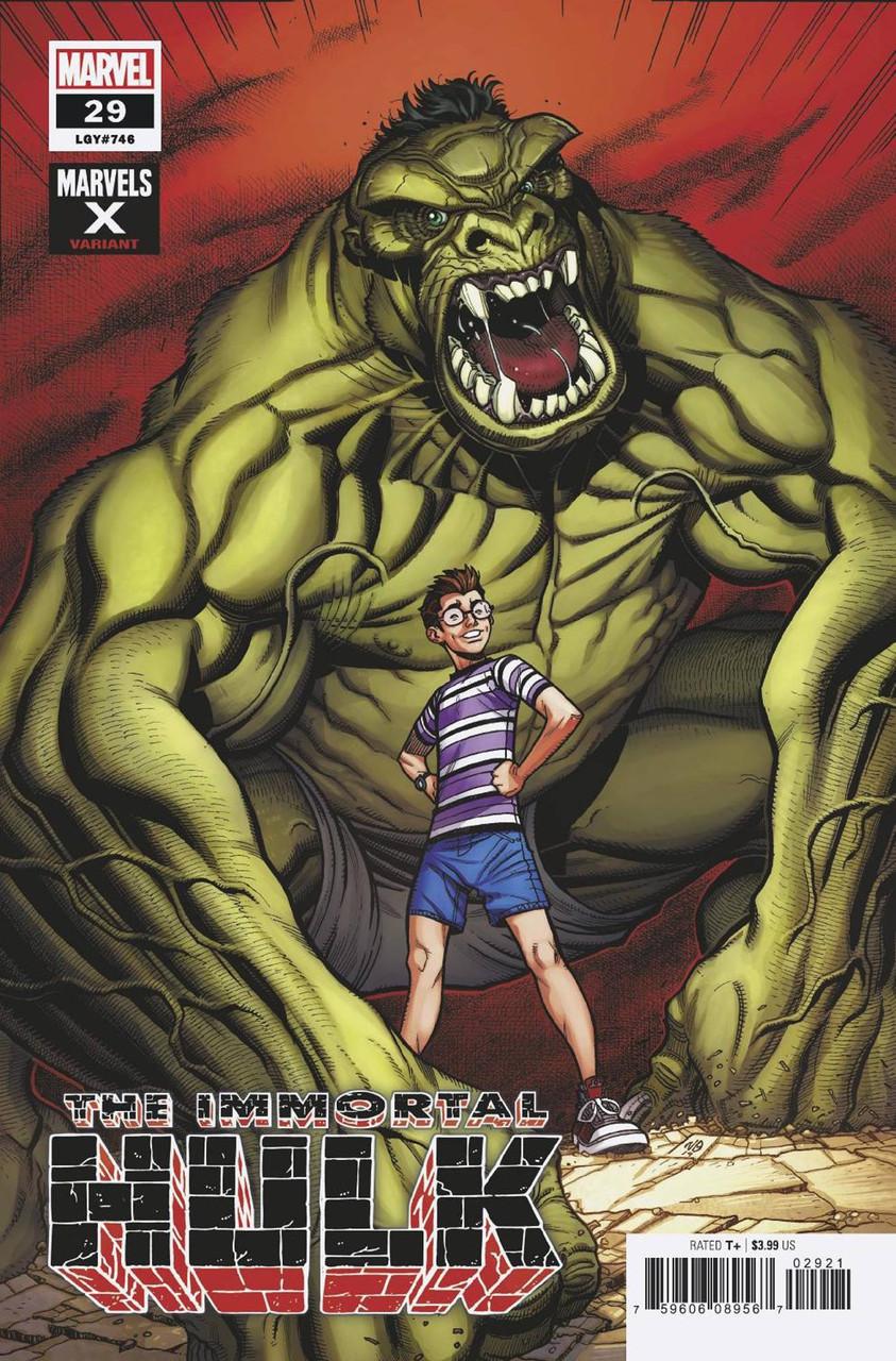 MARVEL COMICS//2019 ALEX ROSS MAIN  COVER JOE BENNETT ART IMMORTAL HULK #22