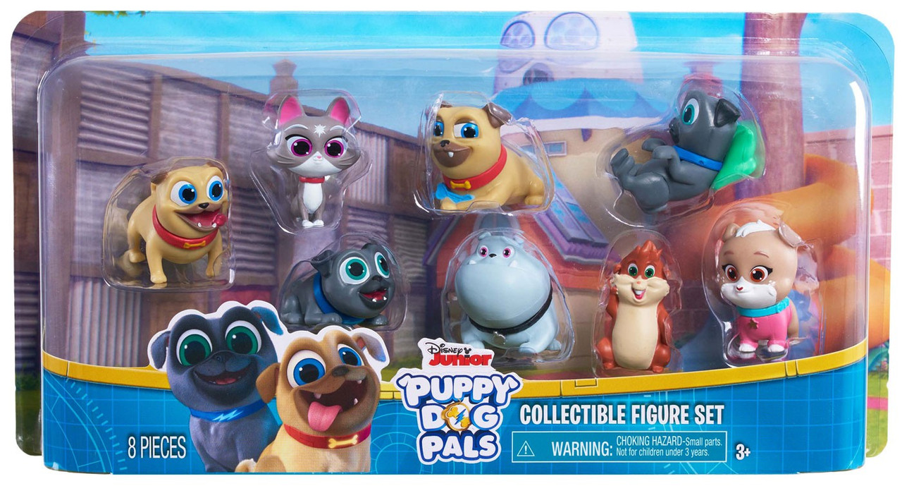 Disney Junior Puppy Dog Pals Series 3 Blind Box Set Of 2 Packs