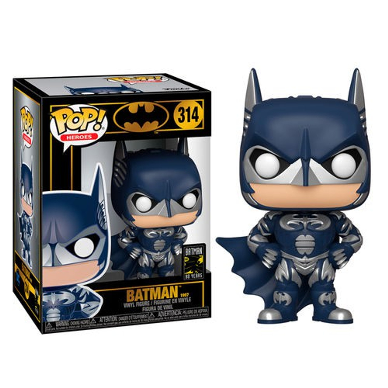 FUNKO POP DC:BATMAN 80TH BATMAN 1997 VINYL FIGURE #314