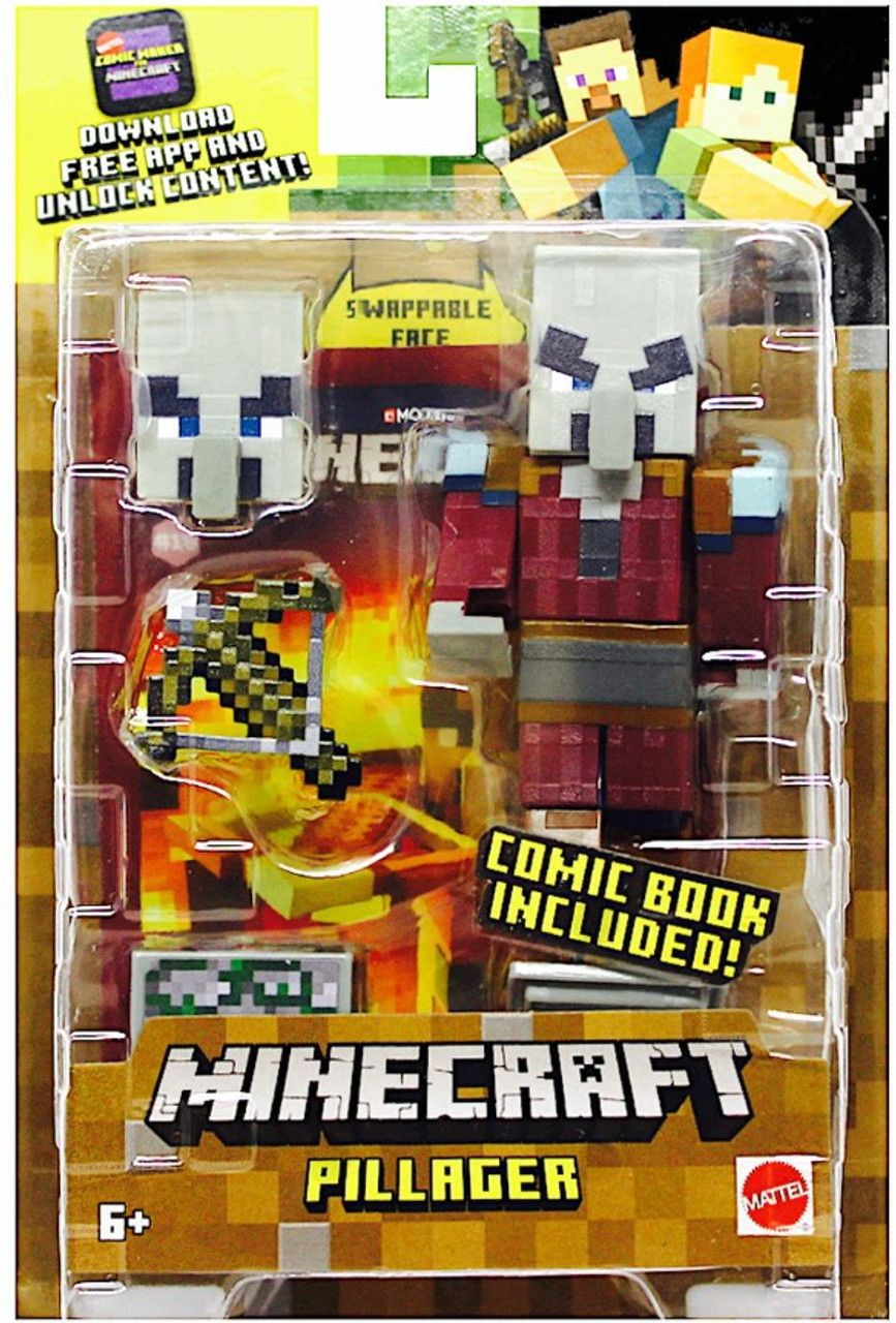 Minecraft Comic Maker Pillager Action Figure