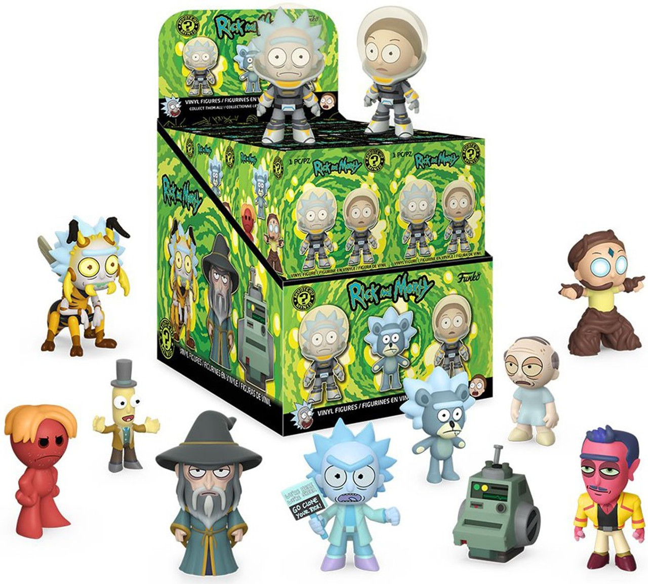 Rick and Morty Funko Mystery Minis Vinyl Figures Bird Person 1//12