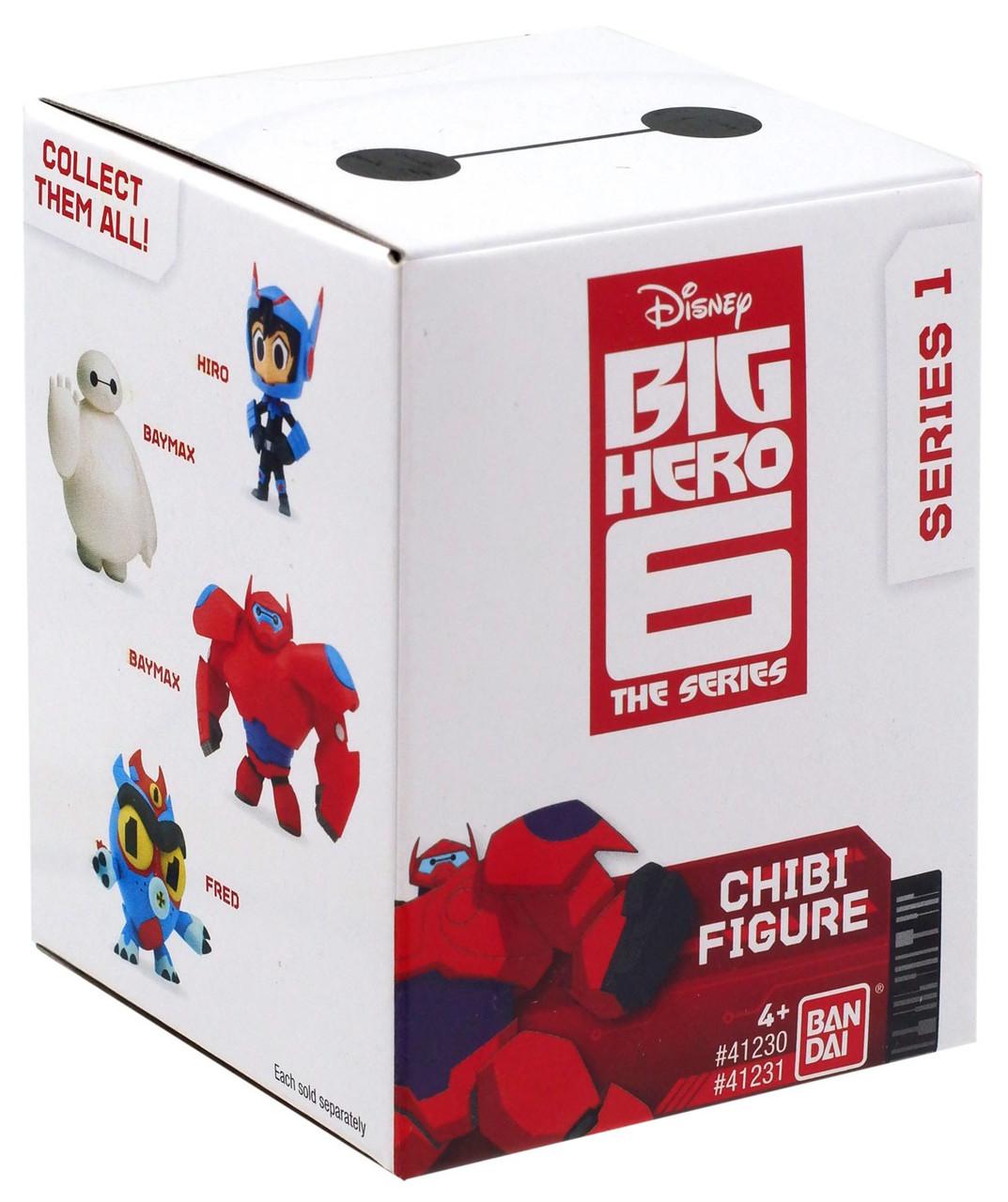 Big Hero 6 TV Series Chibi Figure Display Box