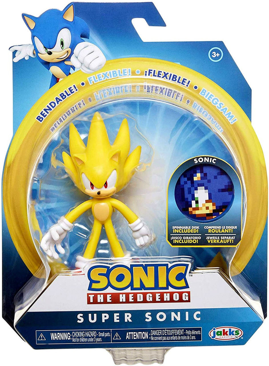 Sonic The Hedgehog 2020 Series 2 Super Sonic 4 Action Figure Jakks Pacific Toywiz