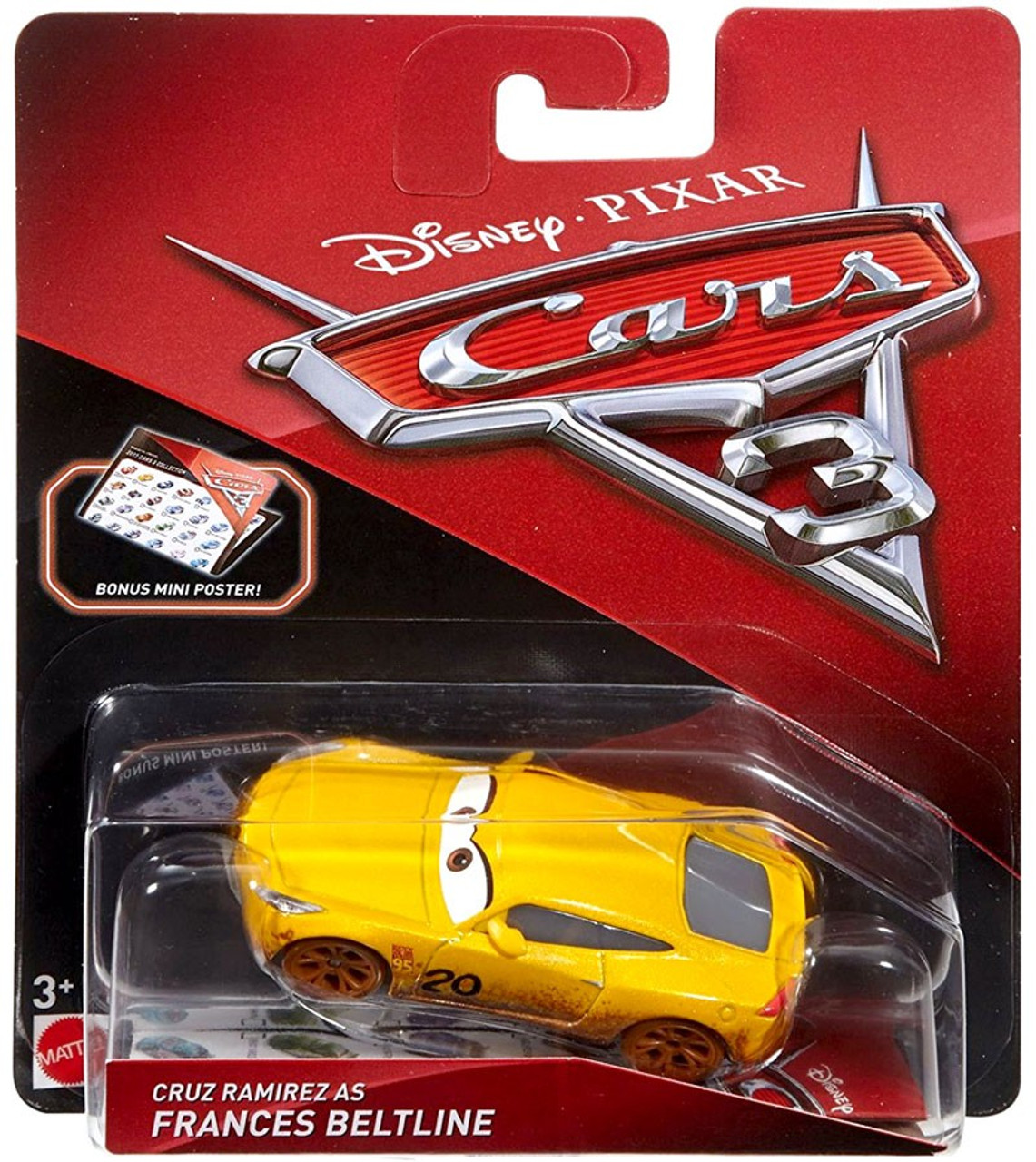 Disney Pixar Cars Cars 3 Cruz Ramirez As Frances Beltline 155