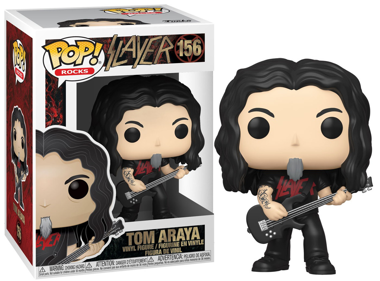 Tom Araya Funko Pop Slayer Rocks