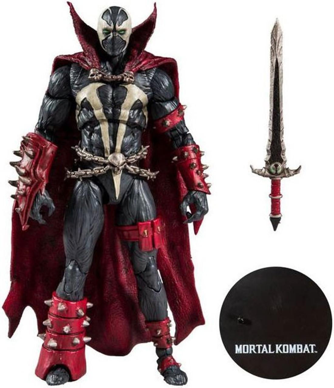 "McFarlane Action Figure 7/"" Mortal Kombat Spawn IN HAND FIRST RELEASE SWORD"