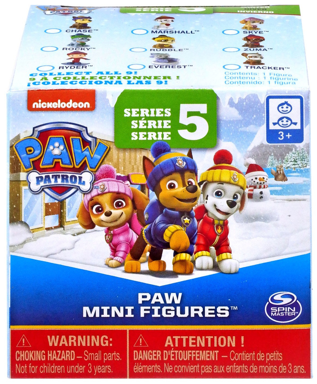 Paw Patrol Series 5 Paw Mini Figures Mystery Pack Spin Master Toywiz