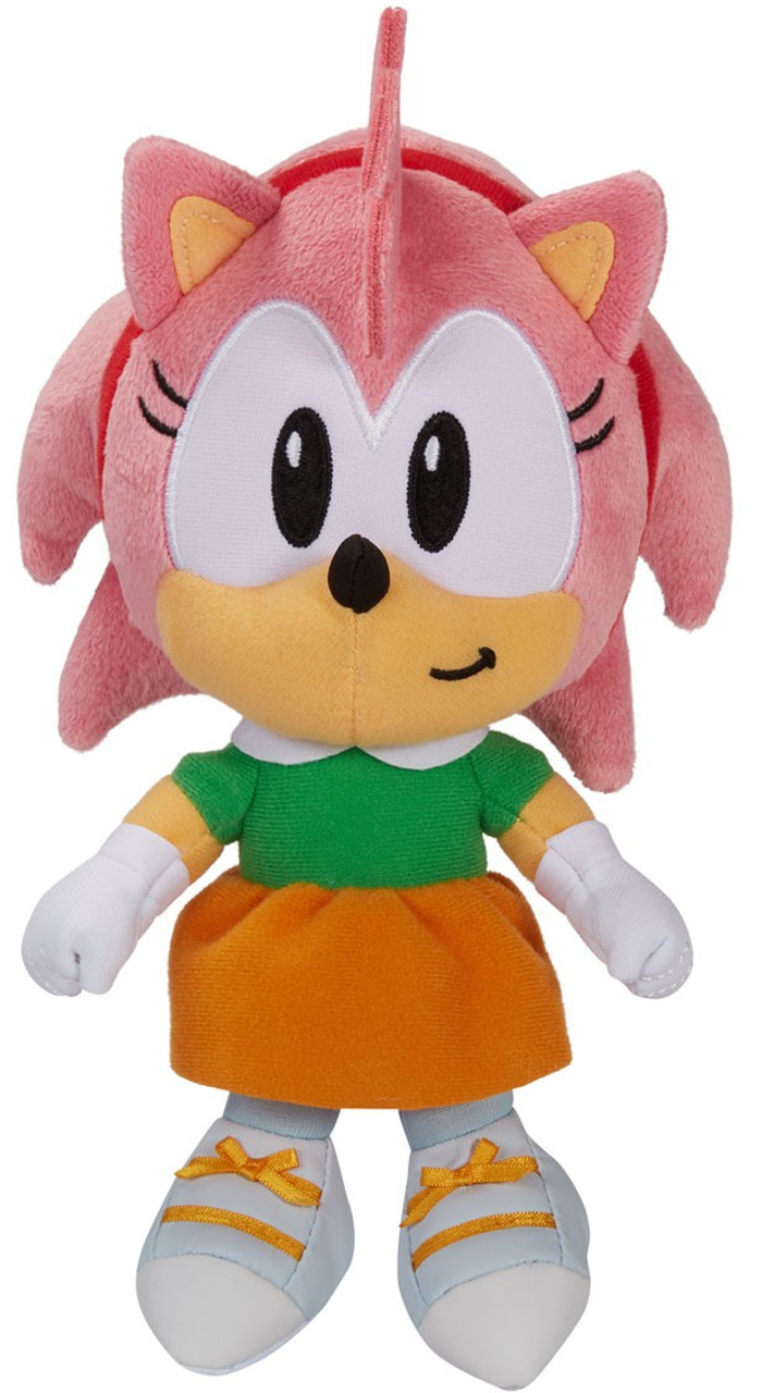 Sonic The Hedgehog Amy 7 Plush 2020 Version Jakks Pacific Toywiz