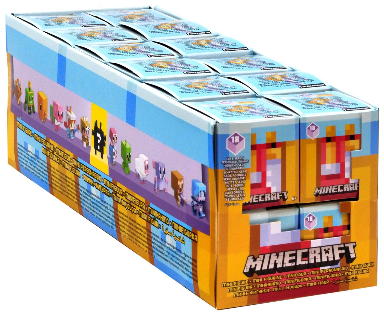 4 Lot Of 4 For A Good Deal... Minecraft Cute Mini Series 18 Mystery Pack..