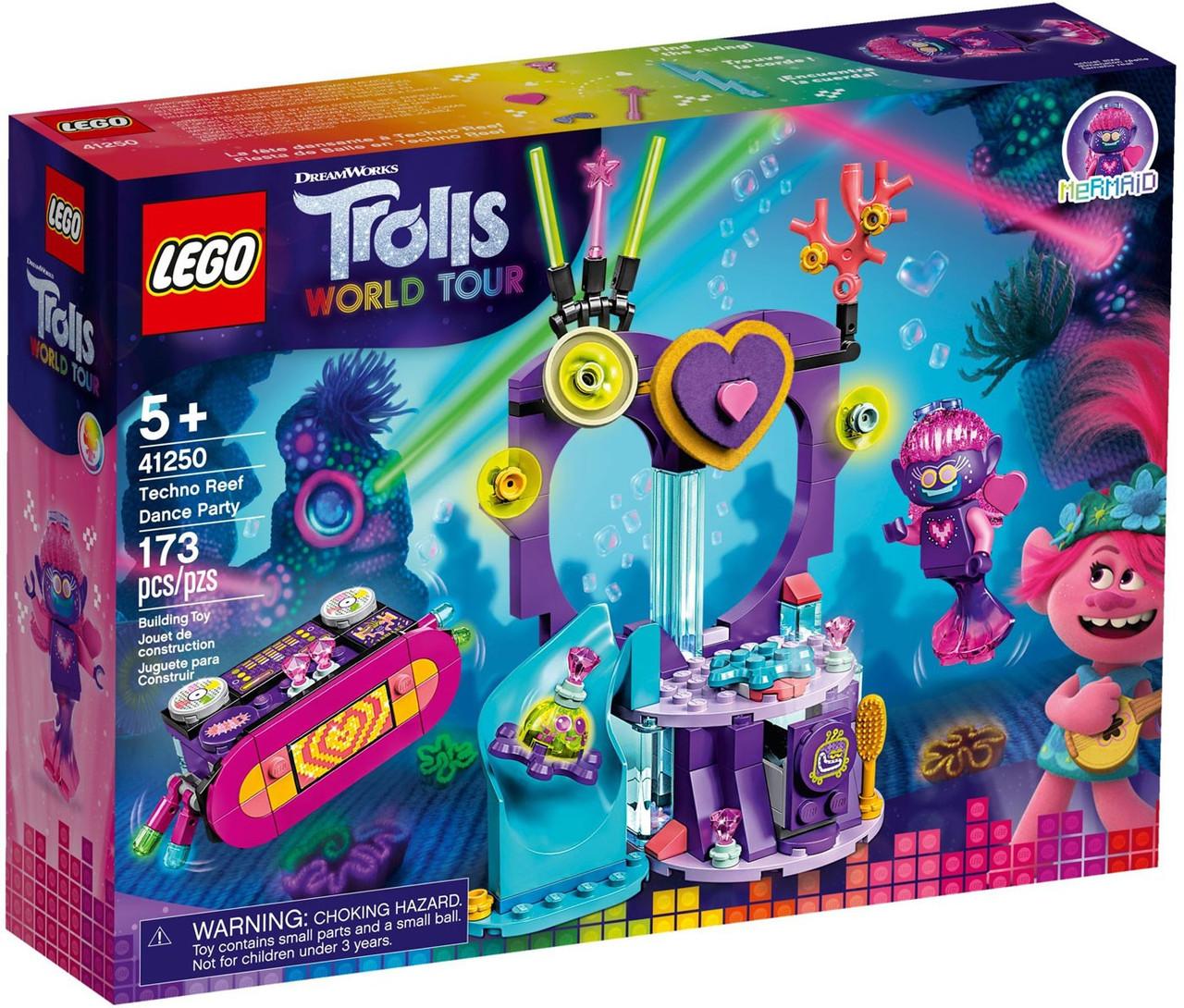 Lego Trolls World Tour Techno Reef Dance Party Set 41250 Toywiz