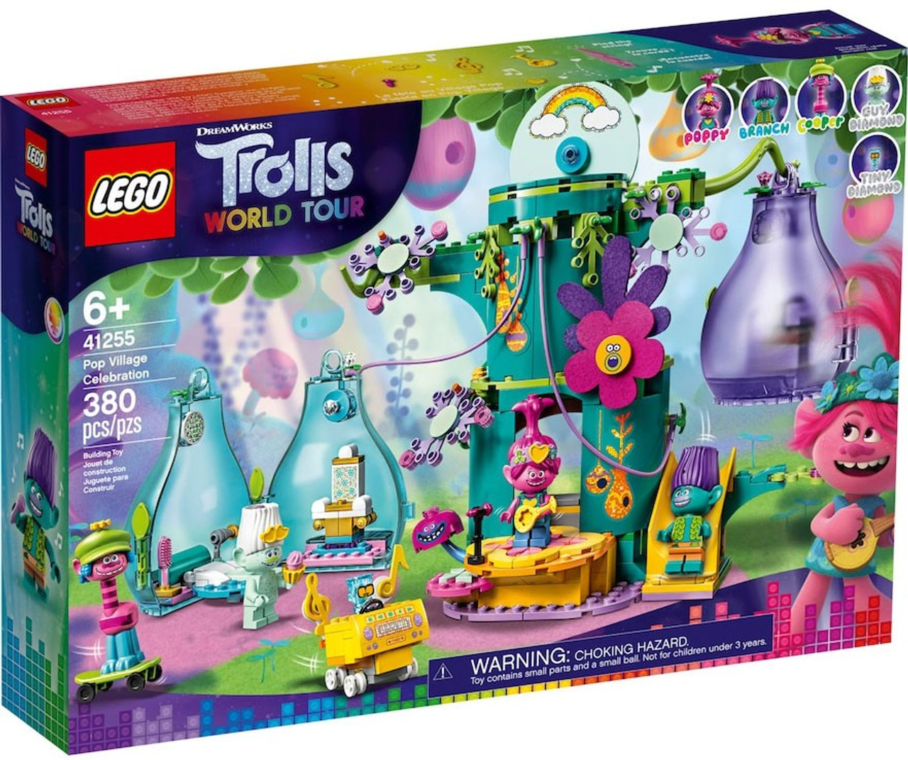 Lego Trolls World Tour Pop Village Celebration Set 41255 Toywiz