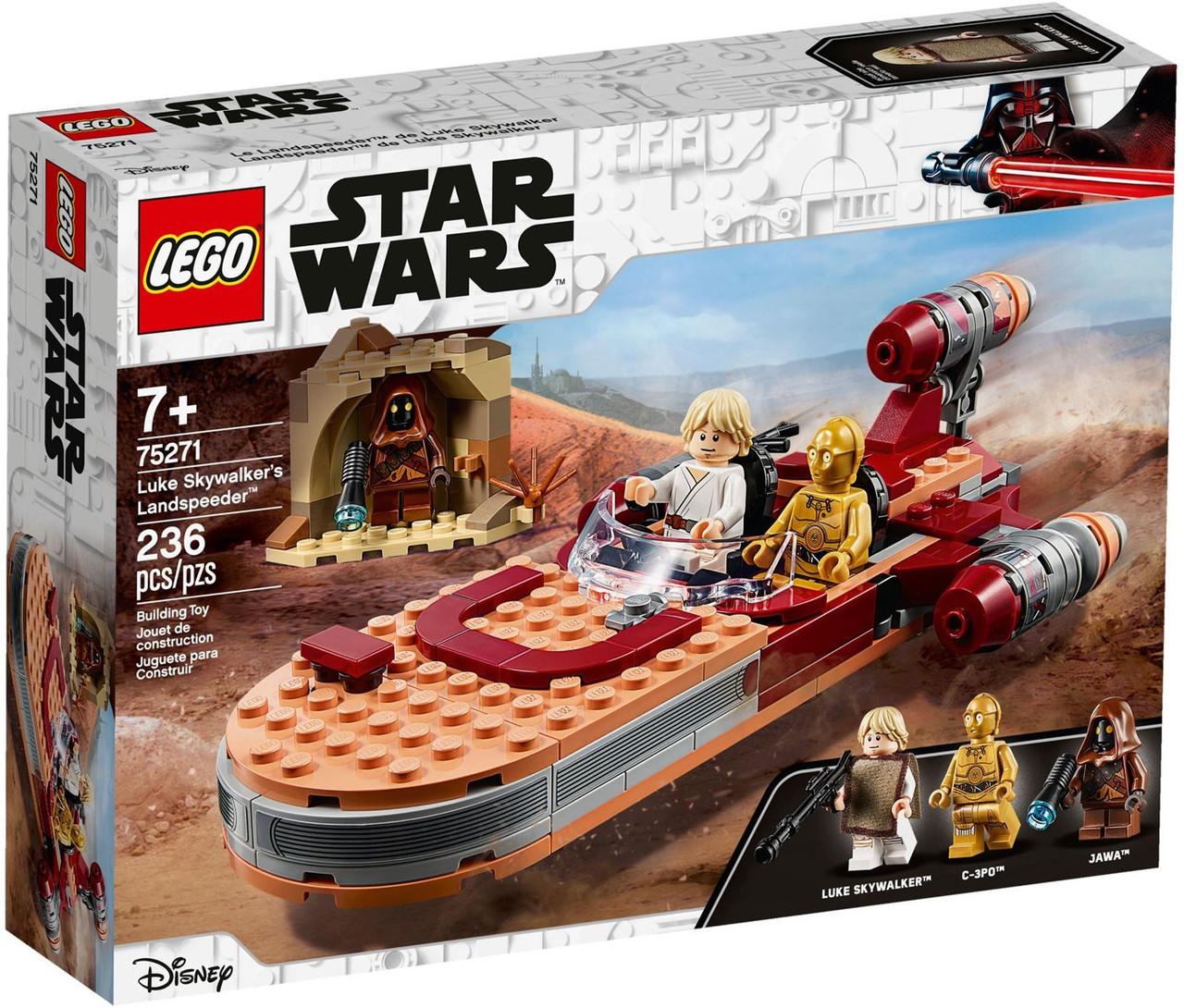 lego star wars luke skywalkers landspeeder set 75274  toywiz