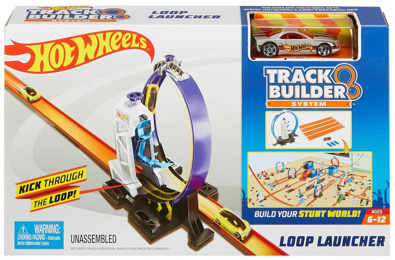 SEALED Brand New Hot Wheels Track Builder System D Launch It