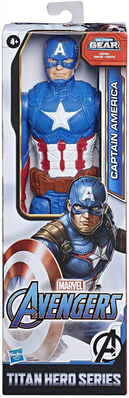 "Captain America 12/"" Marvel The Avengers Titan Hero Series Action Figure NEW"