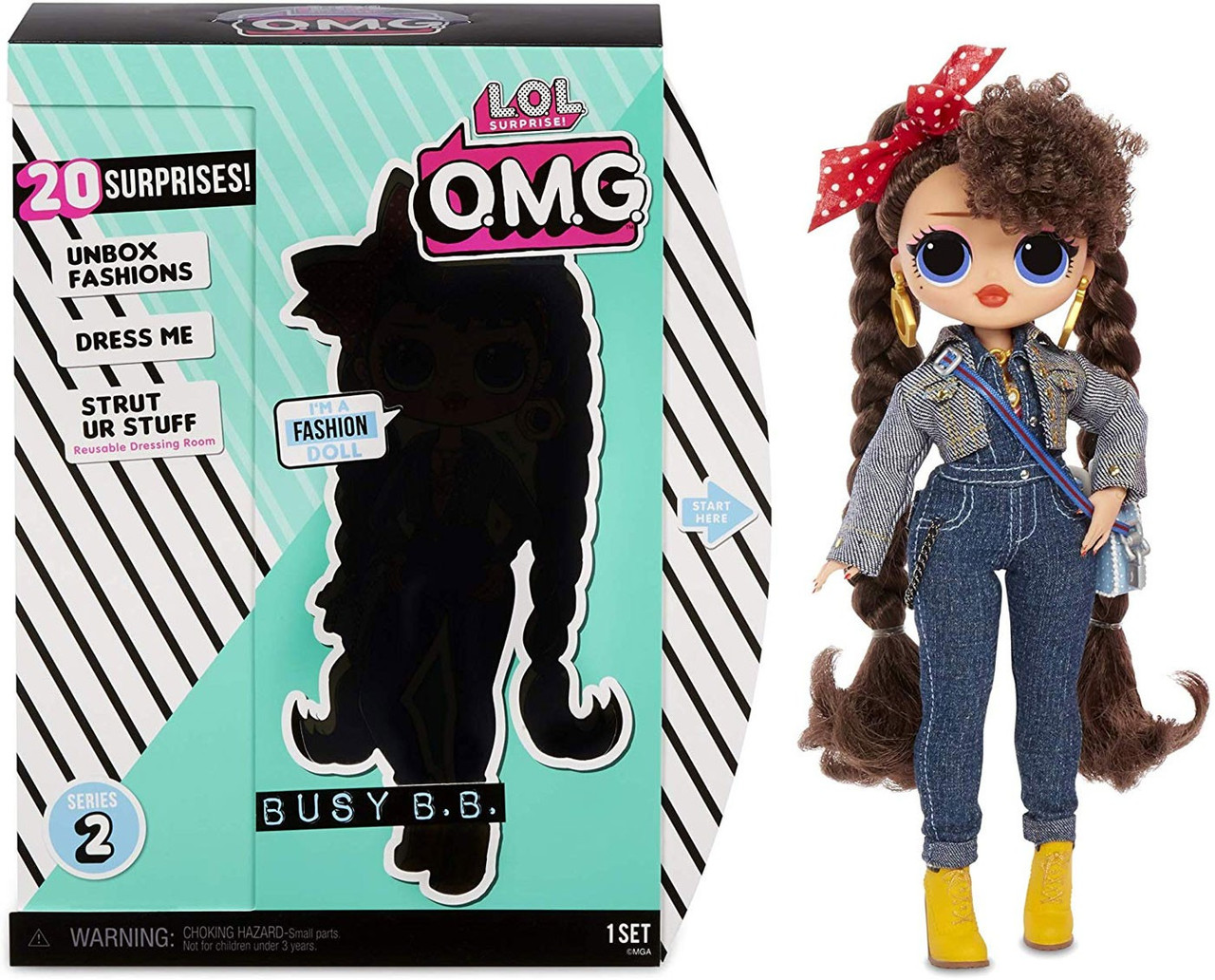 Lol Surprise Omg Series 2 Busy Bb Fashion Doll