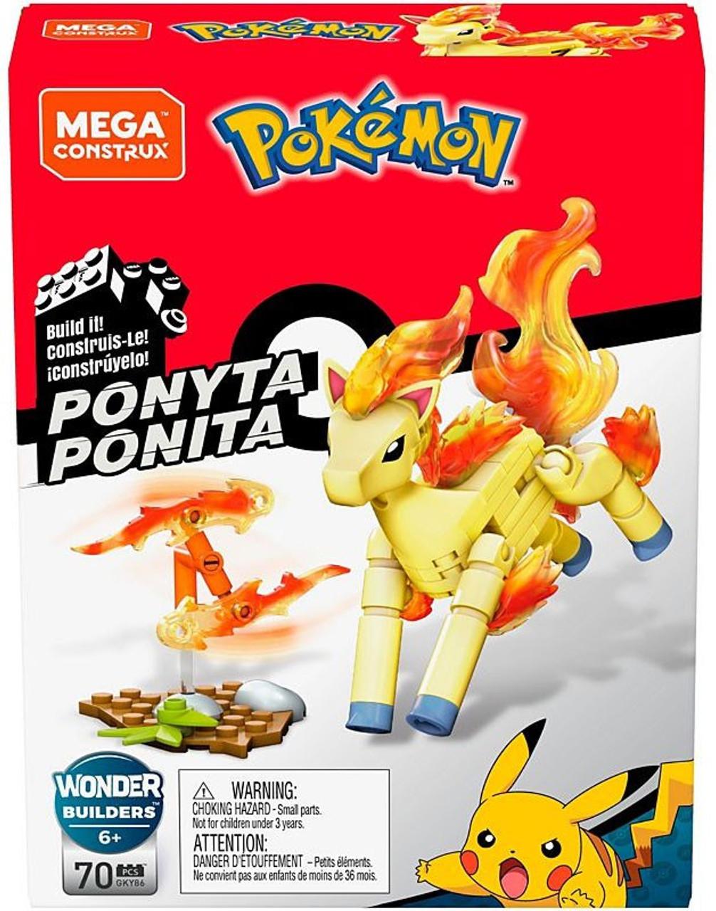 "2/"" Ponyta # 77 Pokemon Toys Action Figures Figurines 1st Series Version # 1"