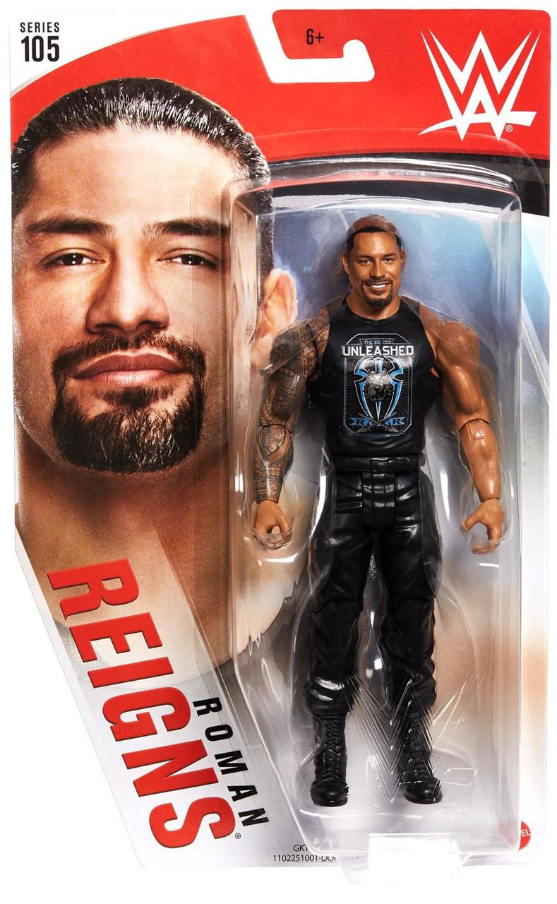 WWE Mattel Roman Reigns Series 90 Figure Loose