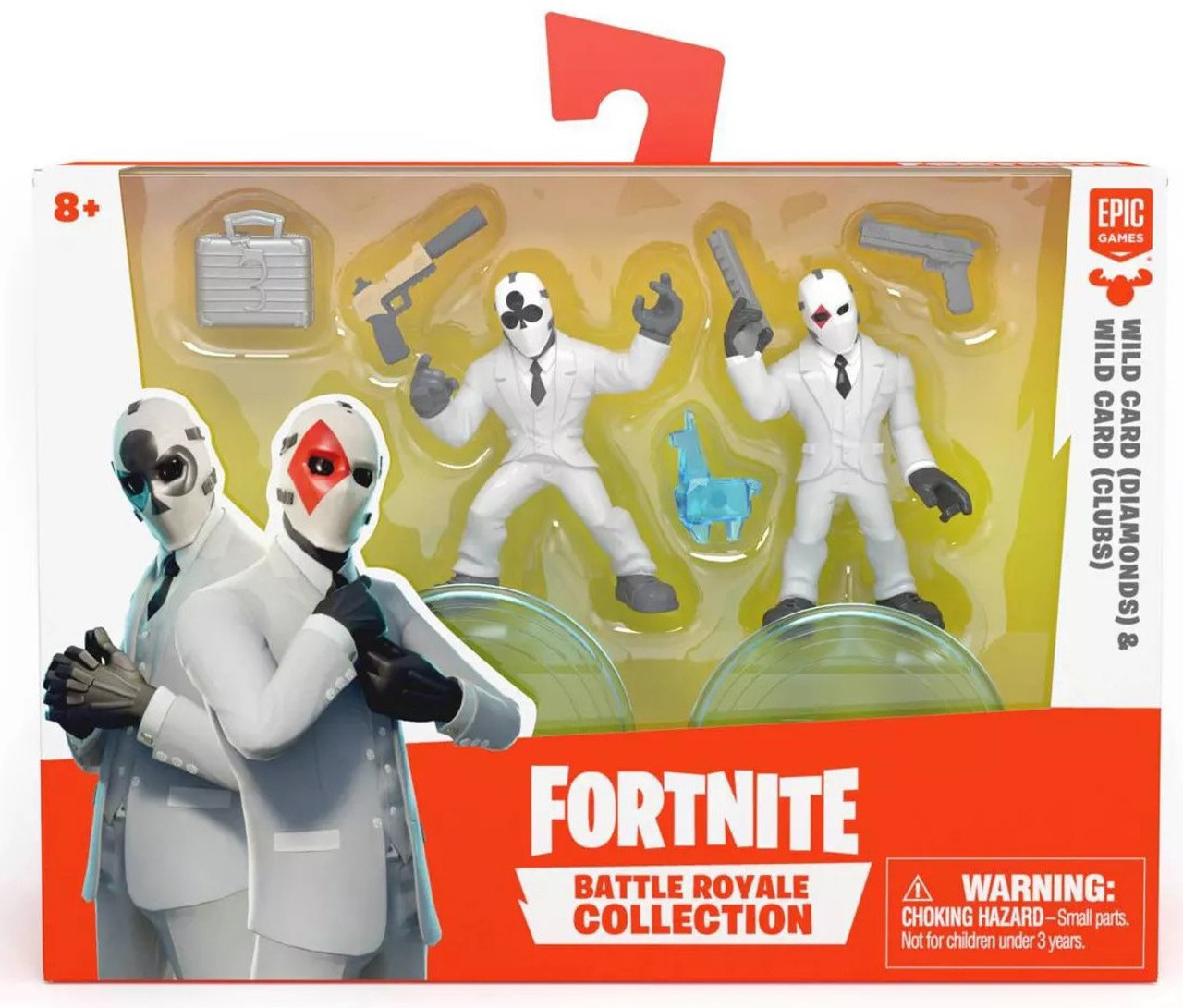 "Fortnite Black Wild Card 7"" Premium Action Figure McFarlane Toys Epic Games New"
