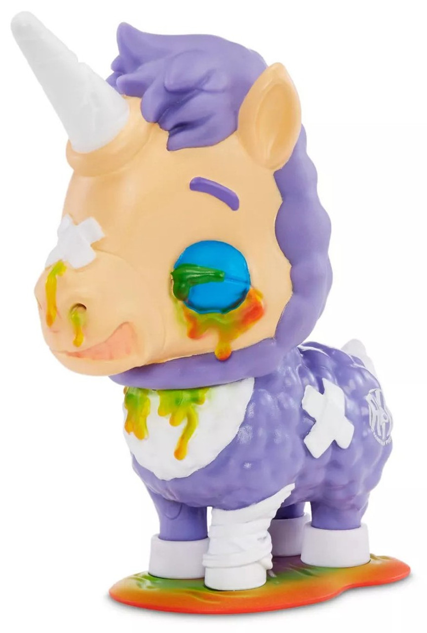 MGA Entertainment R.I.P Messed Up Unicorn Character Happy Trappy Rainbows in Pieces Gnarly