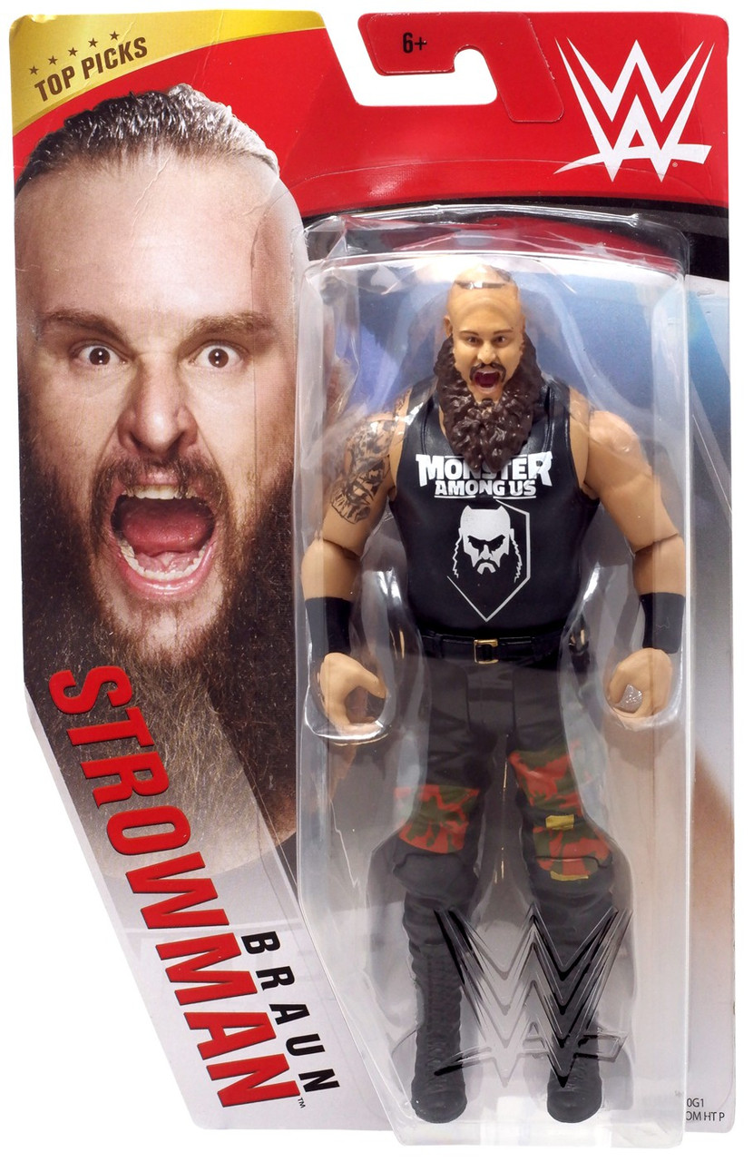 WWE Braun Strowman Basic Action Figure