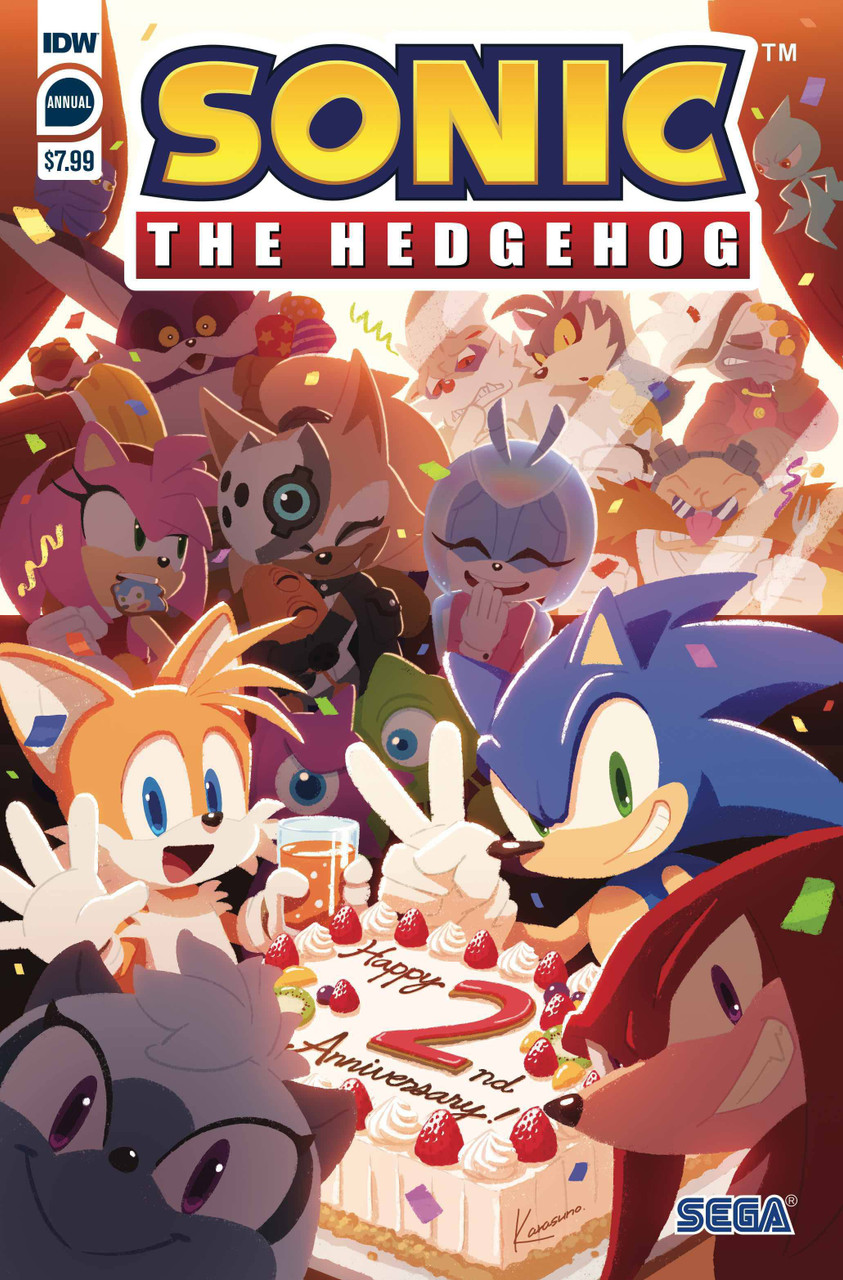 Idw Sonic The Hedgehog Annual 2020 Comic Book Cover A Sonic Team Idw Publishing Toywiz