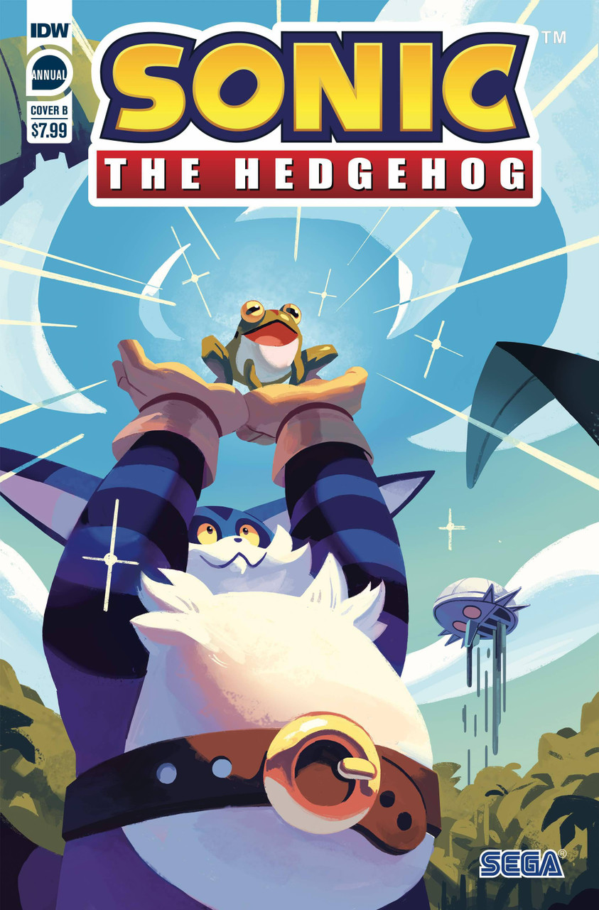 Idw Sonic The Hedgehog Annual 2020 Comic Book Cover B Nathalie Fourdraine Idw Publishing Toywiz