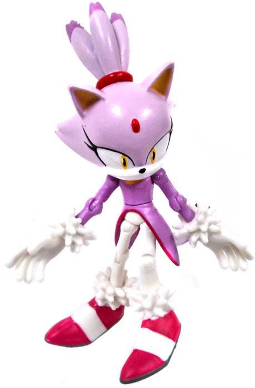 Sonic The Hedgehog Blaze The Cat Action Figure Loose Jazwares Toywiz