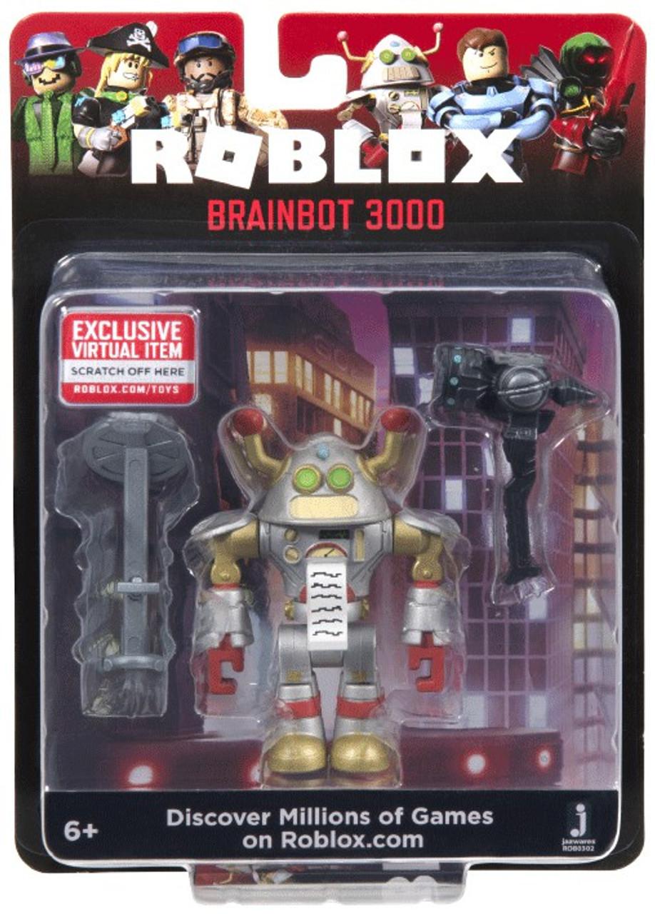 Roblox Brainbot 3000 3 Action Figure Jazwares Toywiz