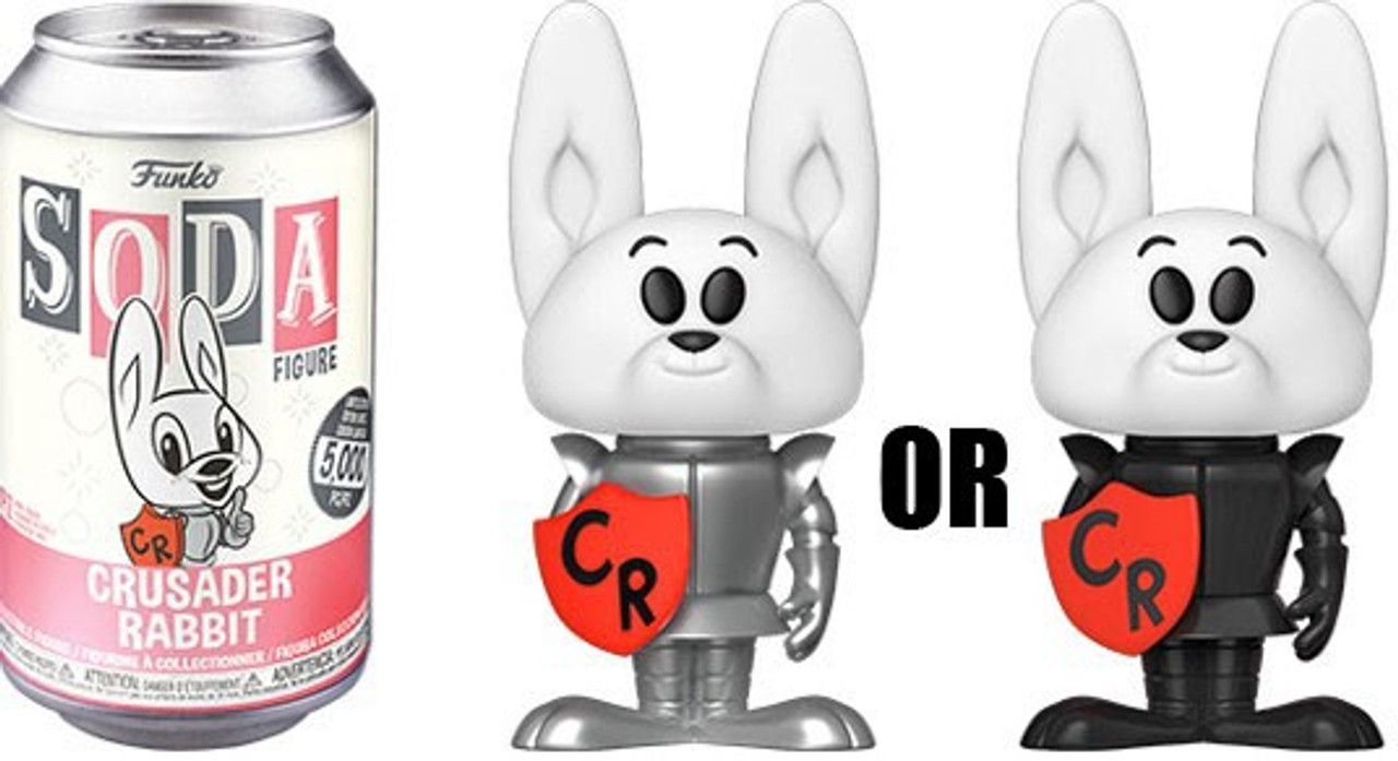 Crusader Rabbit Funko Vinyl Soda Figure Standard Version 4,200 Pieces