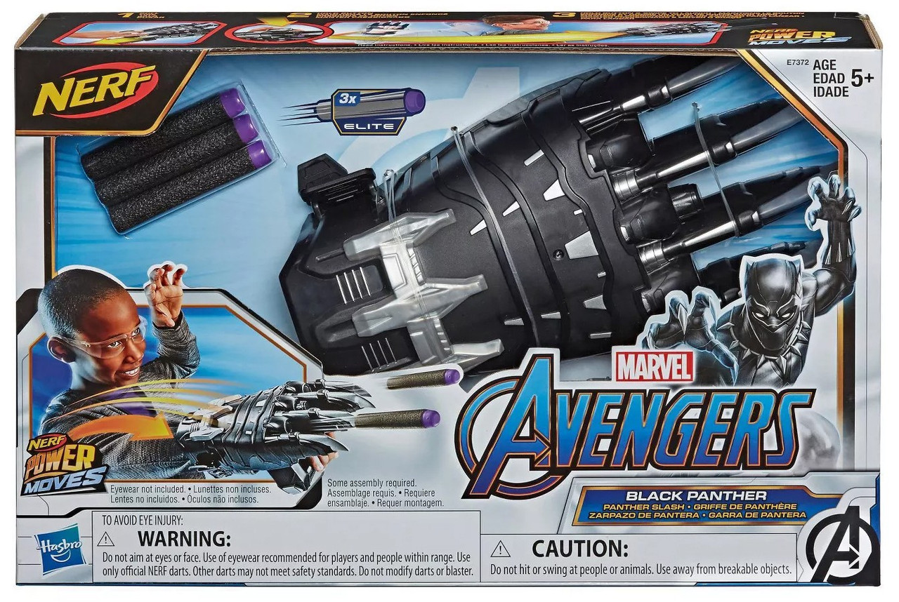 Avengers Endgame Black Panther Slash Claw