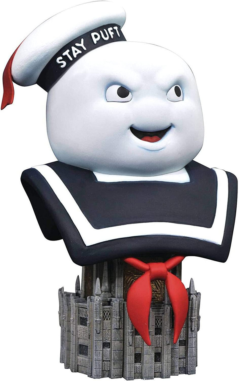 "light Ghostbusters Classic 6/"" Stay Puft Marshmallow Man Ghost Figure Version 2"