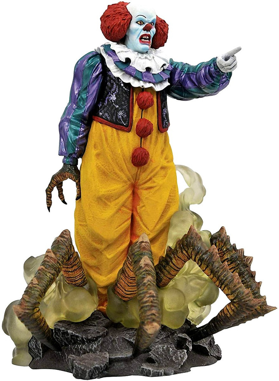 It Pennywise 1990 Miniseries Scalers PVC Mini Figure NECA