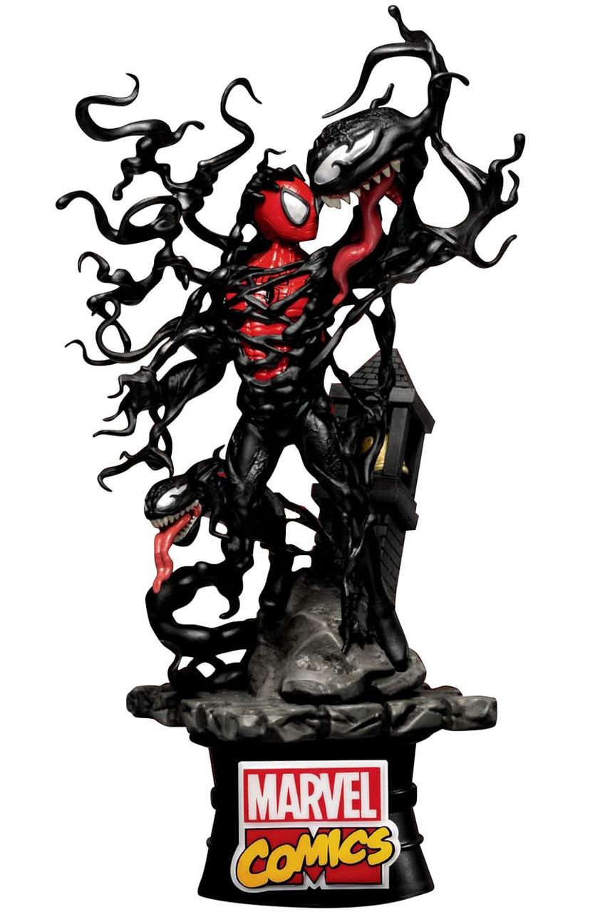 BEAST KINGDOM DS-015 DREAM SELECT IRON SPIDER-MAN FIGURE MARVEL NEW