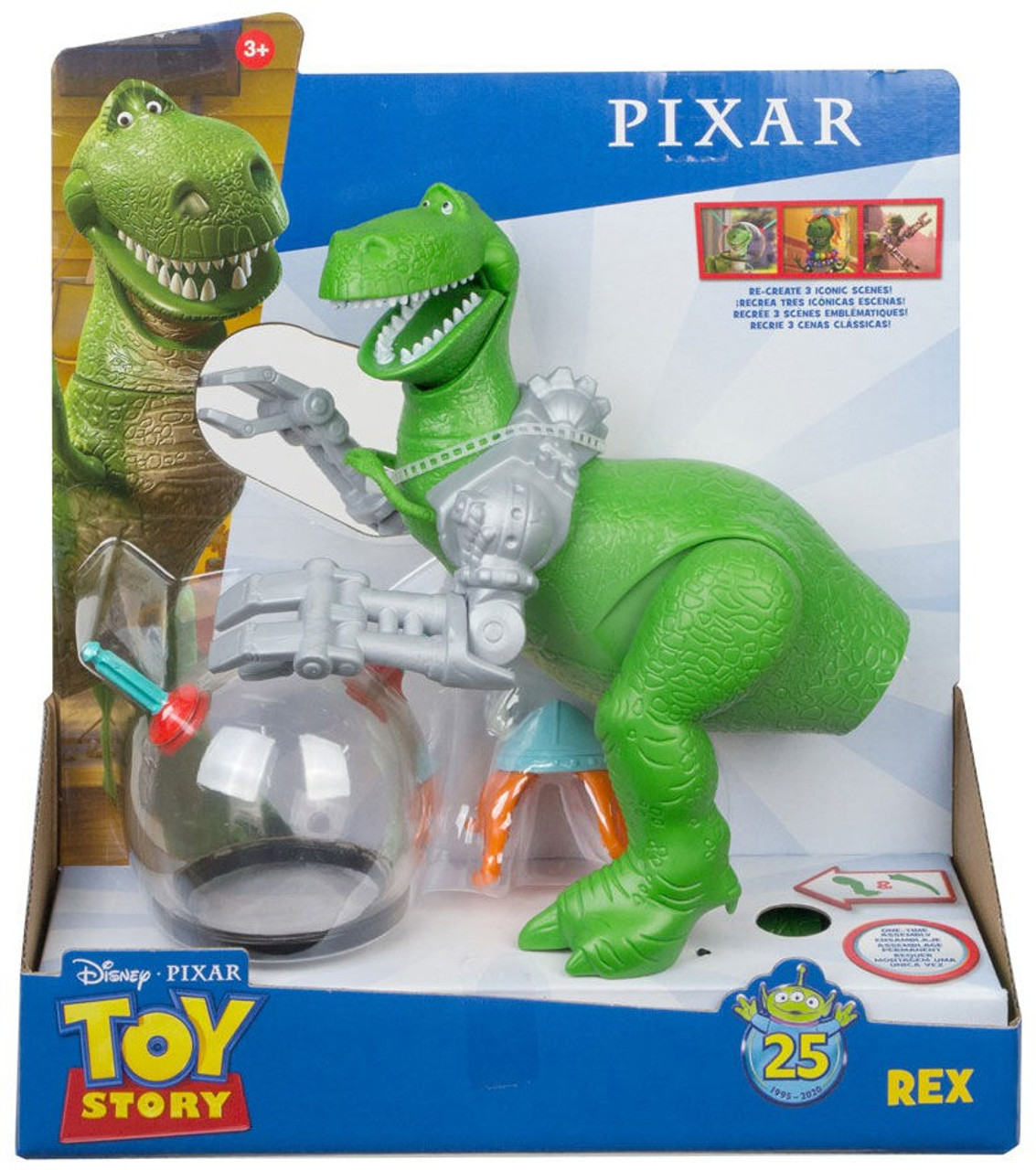 "Disney Toy Story/'s Rex 14/"" Plush Doll Toy brand new"