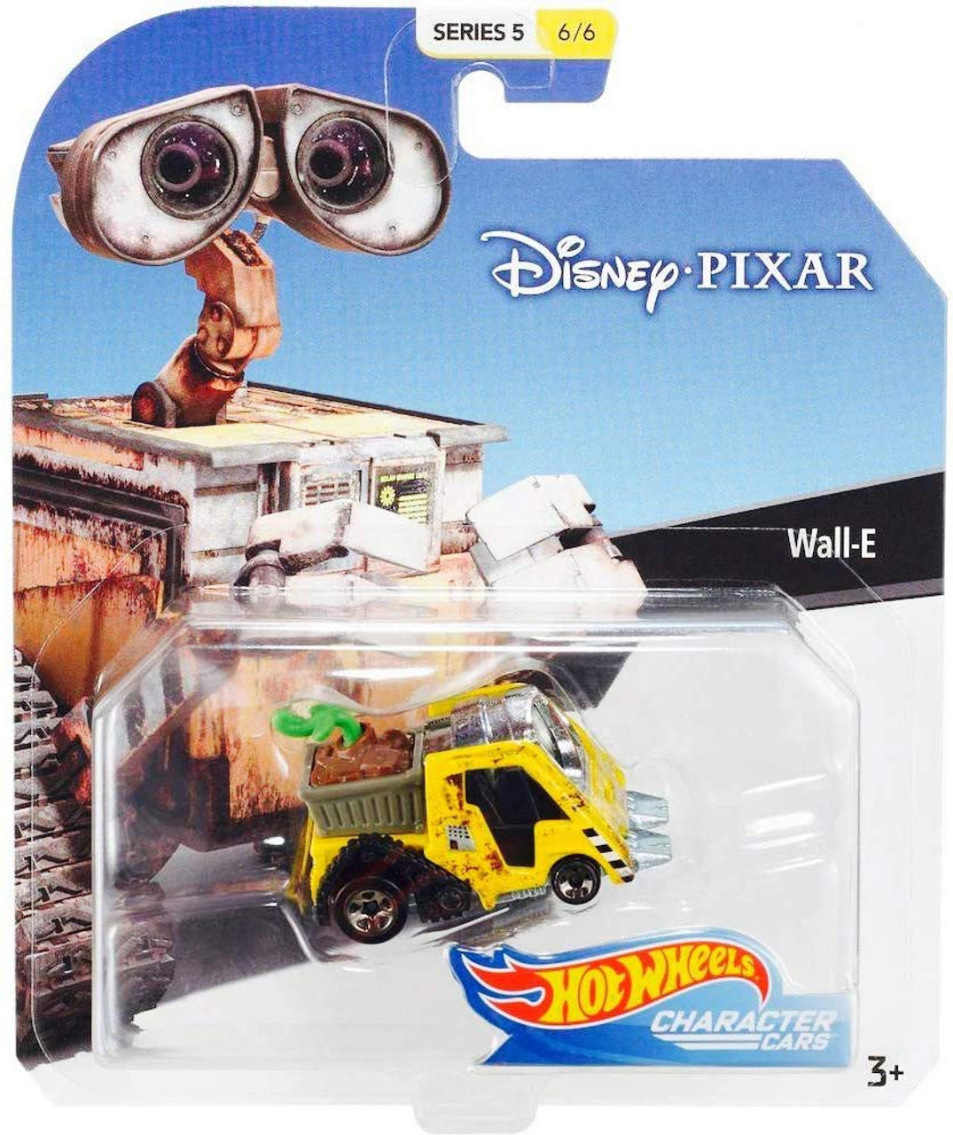 Hot ass neighbor 5 Disney Hot Wheels Character Cars Series 5 Wall E Die Cast Car 66 Mattel Toywiz