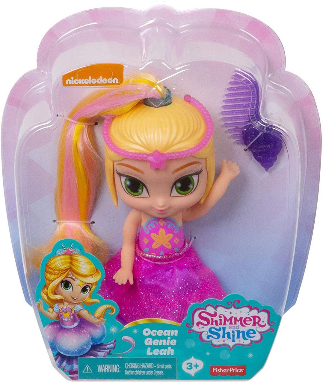 Fisher Price Shimmer Shine Ocean Genie Leah 6 Basic Doll Toywiz