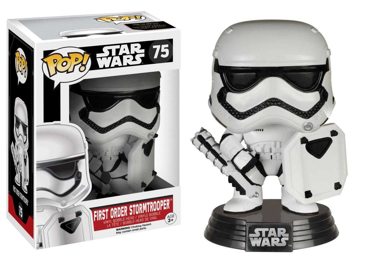 Funko Pop The Force Awakens Finn in Stormtrooper Armour #76 Vinyl Star Wars