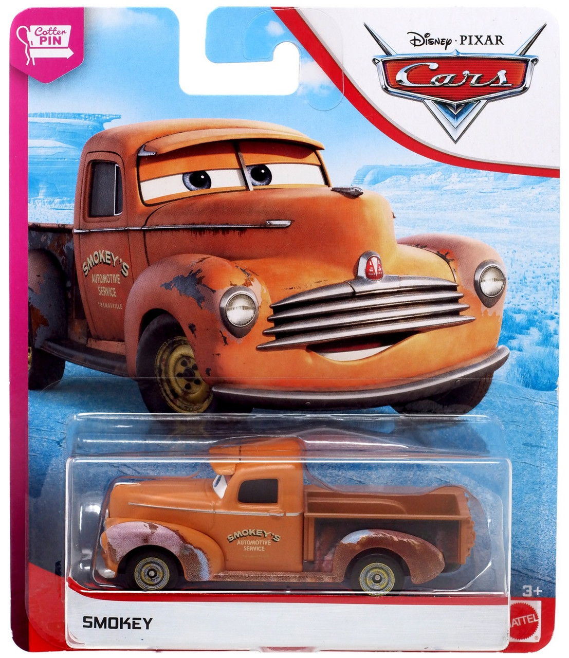 Disney Pixar Cars Cars 3 The Cotter Pin Smokey 155 Diecast Car