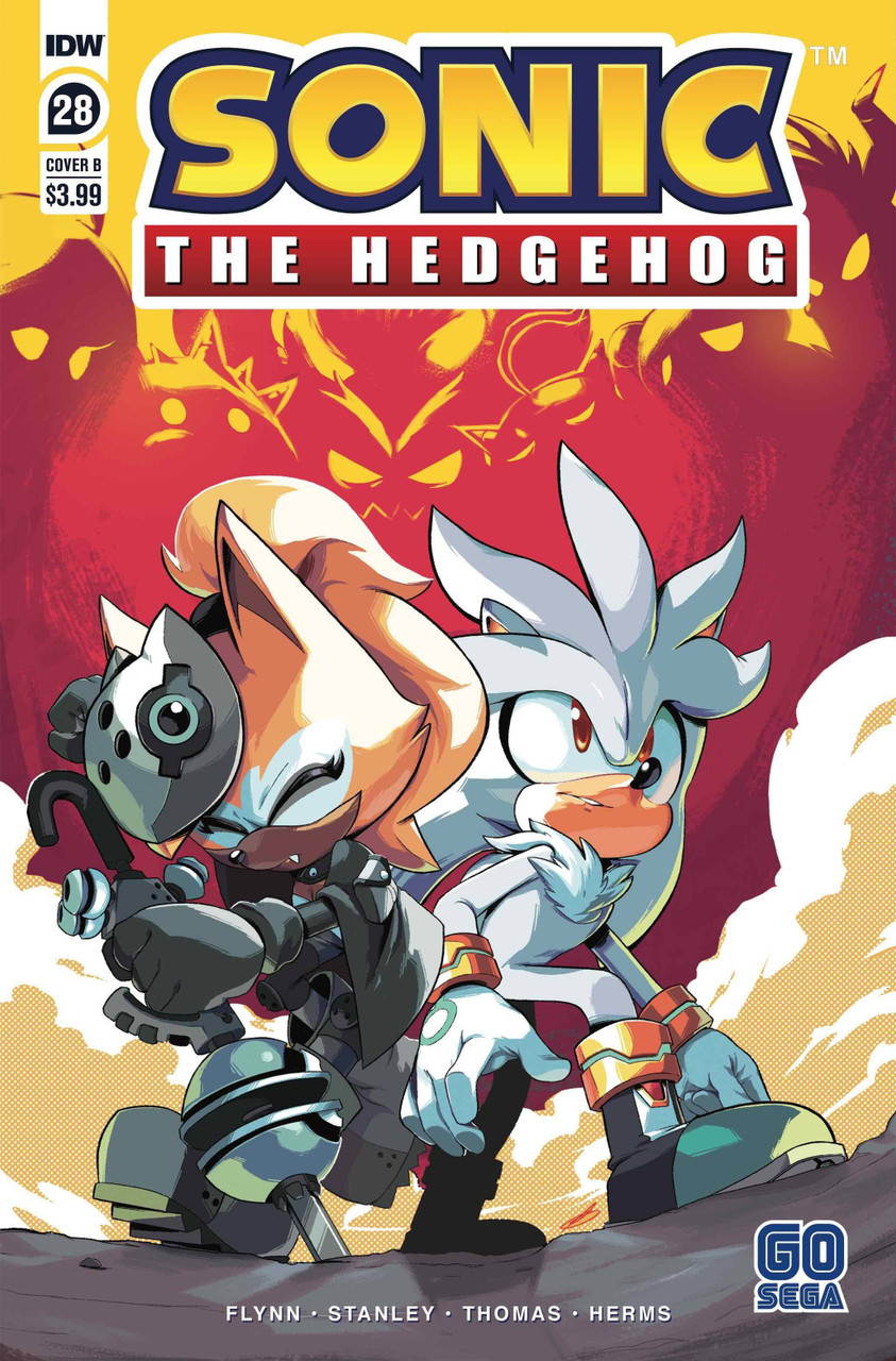 Idw Sonic The Hedgehog Comic Book 28 Bracardi Curry Variant Cover Idw Publishing Toywiz