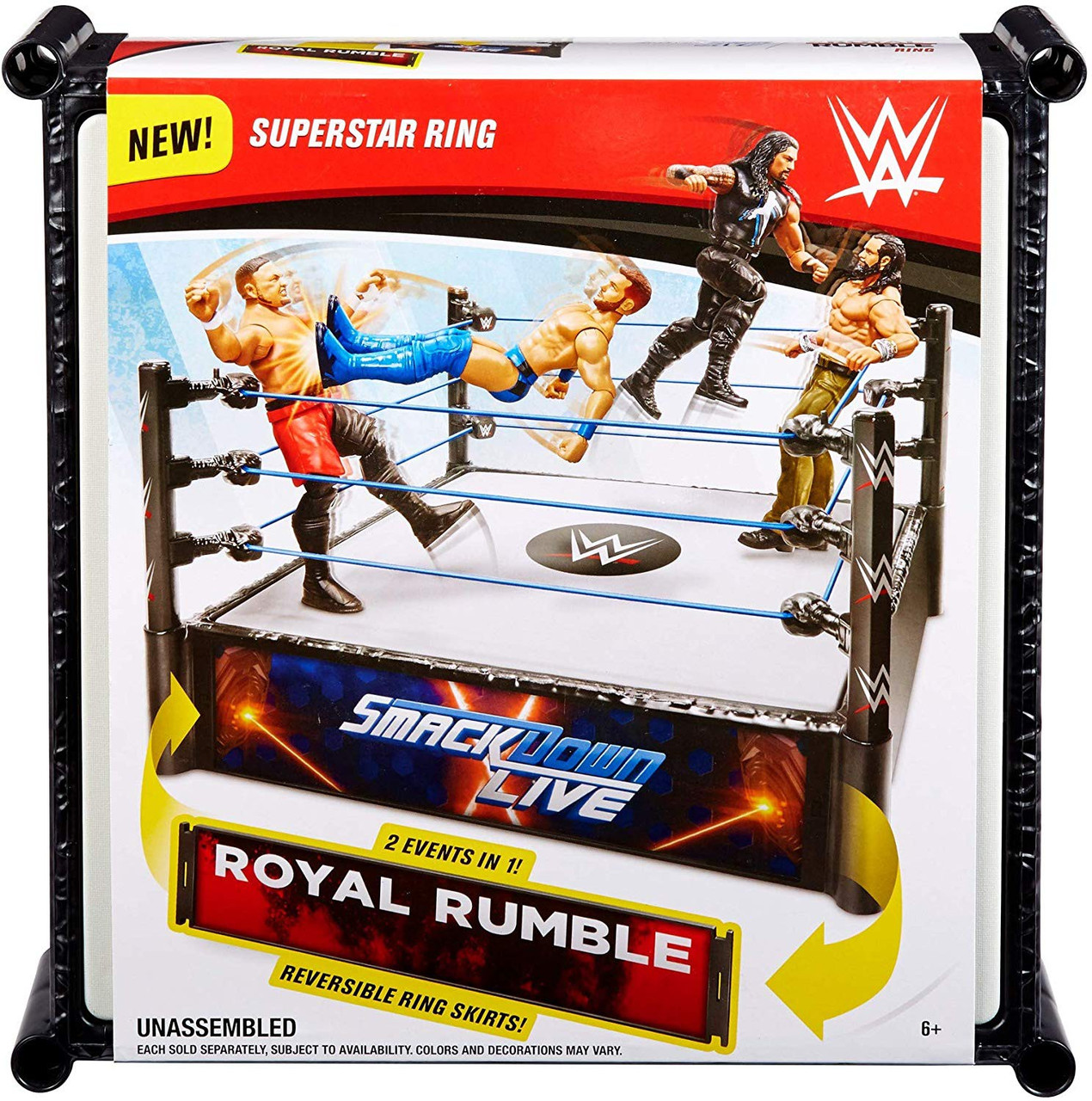 WWE Smackdown Live Main Event Ring a first-inthe-line 6-inch Jinder Maha action