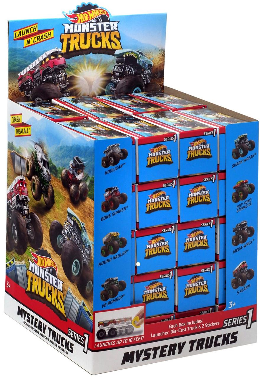 Hot Wheels Monster Trucks Series 1 Monster Trucks Mystery ...